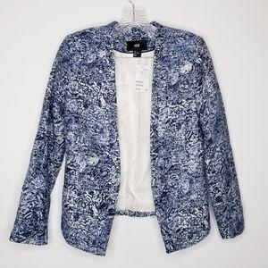 H&M size 6 blazer Blue
